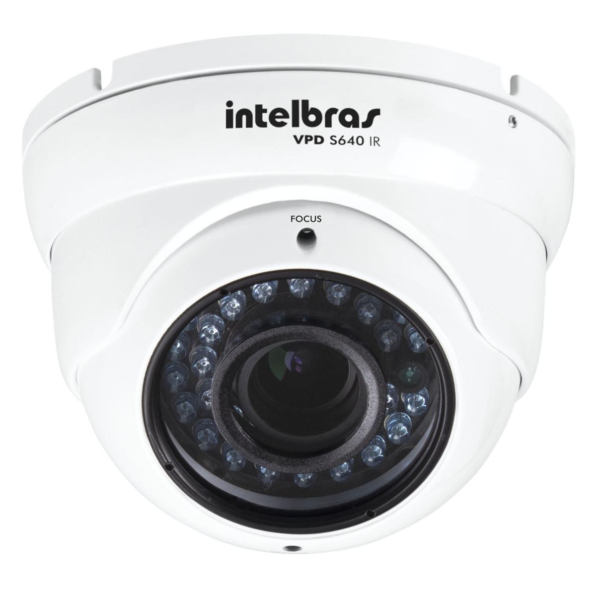 Câmera profissional com IR VPD S640 IR Intelbras