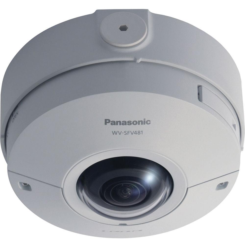 Câmera de rede Monitoramento 360° graus WV-SFV481