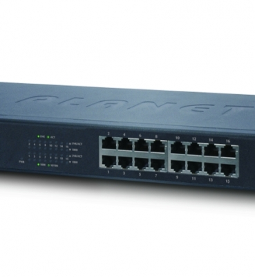 Planet GSW-1601 – 16-Port 10/100/1000Mbps Gigabit Ethernet Switch