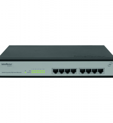 SF 802 AF Switch 8 portas PoE Fast Ethernet