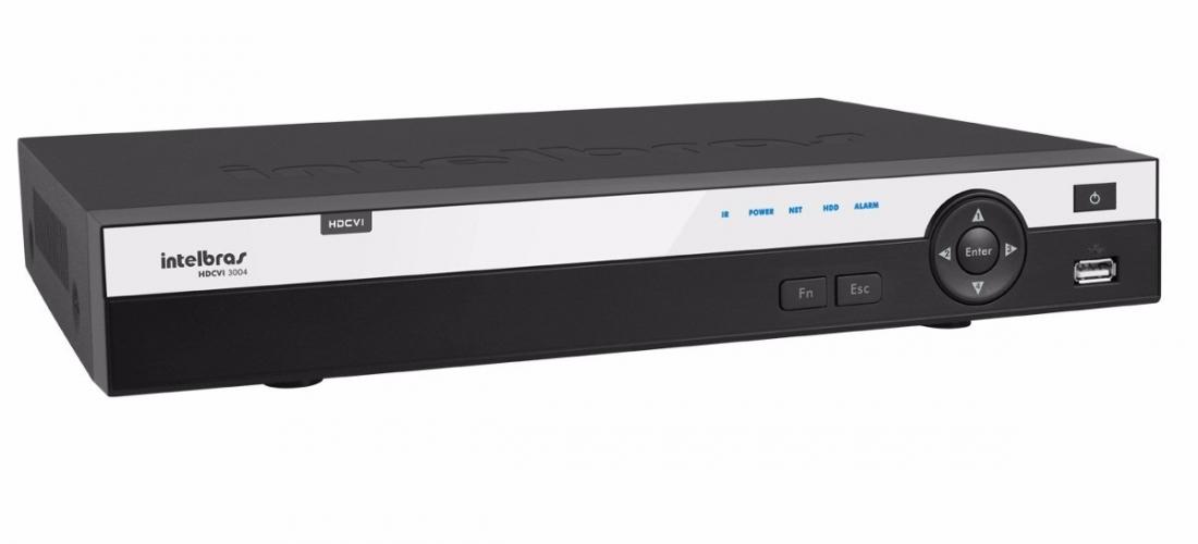 Gravador digital de vídeo Tríbrido HDCVI 3116 Intelbras