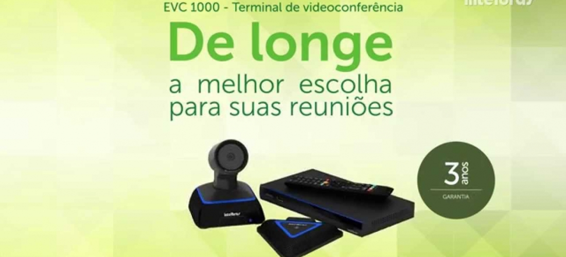 Videoconferência EVC 1000 Intelbrás